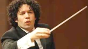 Dudamel: Like a teen with an old soul.