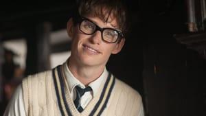 """Eddie Redmayne as Stephen Hawking in """"The Theory of Everything."""""""