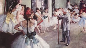 Dance class by Degas: Before reality TV, YouTube and dance clubs.
