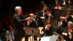 Conductor Edward Gardner may not be well-known in the US, but his visit to the Philadelphia Orchestra proved it's time to take note. (Photo by Pete Checchia.)