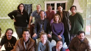 The cast of EgoPo's 'Curse of the Starving Class,' together before the pandemic descended. (Photo courtesy of EgoPo.)