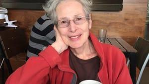 Poet and memoirist Elaine Terranova. (Photo by Millie L. Berg.)