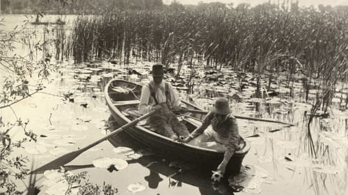 Peter Henry Emerson's 1885 platinum print, 'Gathering Water Lilies.' Collection of Michael Mattis and Judy Hochberg. (Image courtesy of the Barnes.)