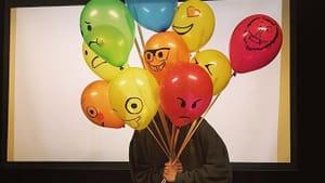In the battle between emoji and interpreter, emoji wins. (Photo courtesy of Victoria Moyer.)