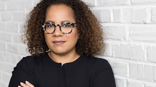 """""""Why am I not encountering people who look like me in our narratives?"""" author Erica Armstrong Dunbar asked. (Image courtesy of the Museum of the American Revolution.)"""