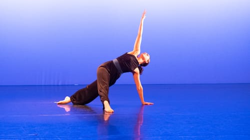 Commanding and fluid: Kate Lombardi in 'Quiet Power.' (Photo by Anne Saint Peter.)