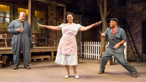 """Brian Anthony Wilson, Melanye Finister, and Michael Genet in """"Fences."""" (Photo: Mark Garvin)"""