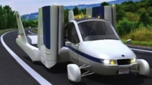 For the woman who has everything, a flying car.
