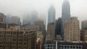 When things get foggy and lonely in Philly, you need info you can trust. (Photo by Alaina Johns.)