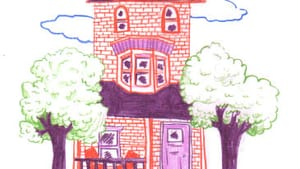 A very, very, very fine house. (Illustration for BSR by Hannah Kaplan.)