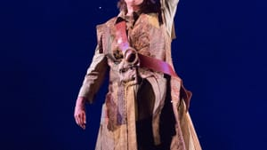 A wellspring of unforced levity: Marcia Saunders as Ann in 'For Peter Pan.' (Photo by Mark Garvin.)
