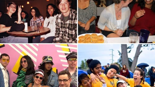 More than just good fun: friendships in adulthood. (Photos courtesy of the author.)