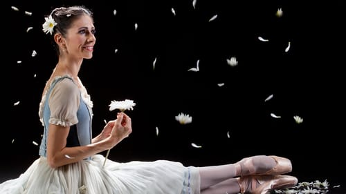 Making Giselle's petals fly, with a little help off-camera. (Photo by Alexander Iziliaev.)