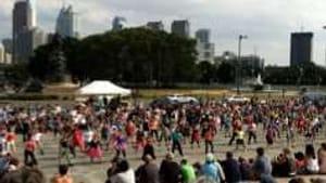 If 150 Philadelphians can dance together...
