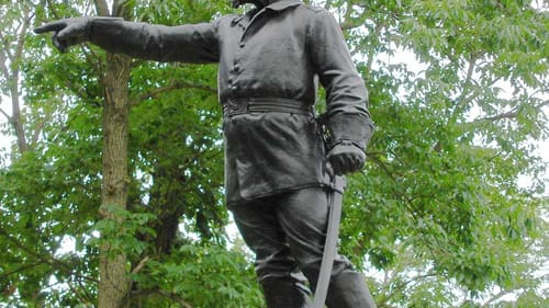What would Union general George Sears Greene think? His 1906 monument stands in Gettysburg National Military Park. (Image via Wikimedia Commons.)