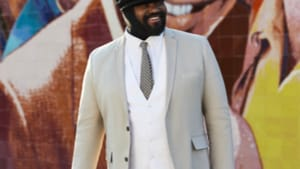 A gem of American music: Gregory Porter is on his way to the Kimmel. (Photo by Erik Humphery.)