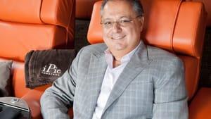 Hamid Hashemi President in I Pic Theater