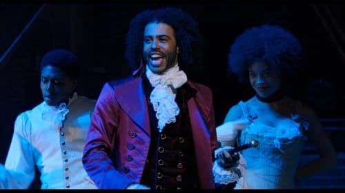 Daveed Diggs plays Thomas Jefferson—and is actually a rapper with the group Clipping. (Photo courtesy of Disney.)