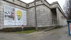 Munich's Haus der Kunst: Founded by Nazis, it now shows art they would have considered degenerate. (Photo by Richard Carreño)