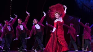 Continuing a legacy of stardom: Carolee Carmello and the ensemble in the national tour of 'Hello, Dolly!' (Photo by Julieta Cervantes.)