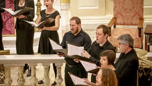 Singing the spirit of Hildegard. (Photo by Sharon Torello)