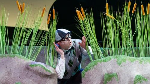 A barnyard runaway: Adam Hoyak as Ugly. (Photo by Matt Urban at NuPoint New Media.)