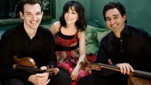 L to R: Horszowski Trio members Jesse Mills, Rieko Aizawa, and Raman Ramakrishnan. (Photo by Lisa-Marie Mazzucco.)