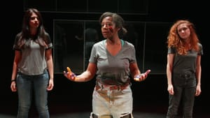 A performance from 2018's Mouthful Monologue Festival. (Photo by Paola Nogueras.)