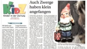 German newspapers are serious about making reading fun.