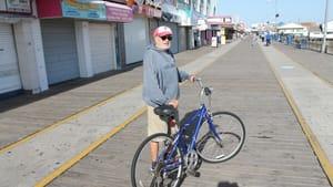 Ingram in 'Boardwalk II': At last, a grownup.