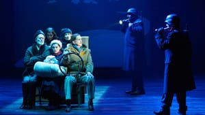 'It Can't Happen Here' got its Berkeley Rep premiere as a stage adaptation in 2016. (Photo by Kevin Berne, courtesy of Berkeley Repertory Theatre.)