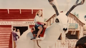 Yep, that's me, about 12 years old, wearing a pink fanny pack and riding a giant jackalope at Wall Drug. (Photo by Alaina's parents.)