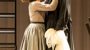 Meeting their match: Madeleine Worral as Jane and Felix Hays as Rochester. (Photo by Manual Harlan.)