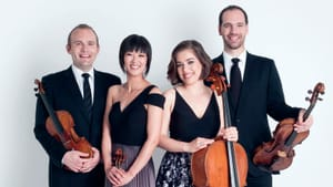 The Jasper String Quartet performs in the Emerging Voices lineup on January 14 (Photo by Dario Acosta)