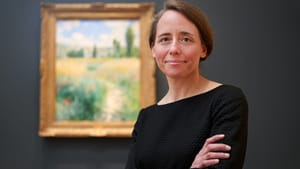 The time had come to rethink the galleries: Jennifer Thompson, the Gloria and Jack Drosdick Curator of European Painting & Sculpture and curator of the John G. Johnson Collection. (Photo by Elizabeth Leitzell, courtesy of the PMA.)