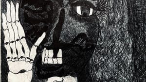 There's a growing public appetite for art by people in prison, like this 2013 ink drawing by Jerome Washington, who is in a Pennsylvania state prison. (Image courtesy of the author.)