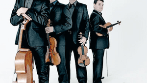 The Jerusalem Quartet and their strings. (Photo courtesy of the Philadelphia Chamber Music Society)