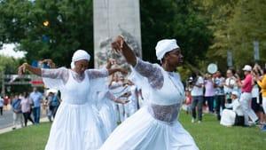 Intercultural Journeys highlights Yoruba culture this weekend. (Photo by Johanna Austin)