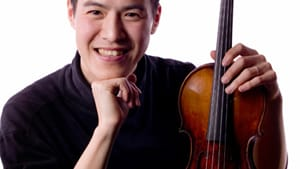 Joseph Lin is the first violinist of the Julliard Quartet. (Photo by Shan Su.)