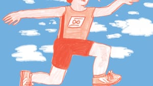 Leaving the earth, 20 feet at a time. (Illustration by Hannah Kaplan for BSR.)