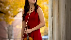 Katie Hyun will string together a performance this wing with Astral Artists. (Photo by Ryan Brandenberg)