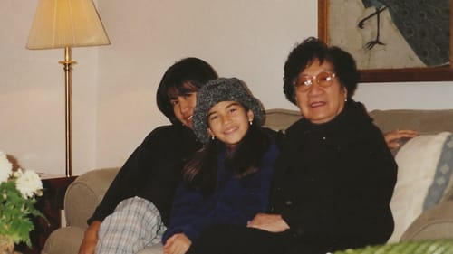 Three generations of the Filipino diaspora: a young Kelly Conrad with family in Germany. (Photo courtesy of the writer.)