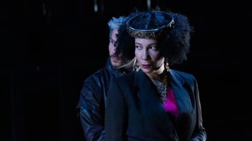 Stunning performances: J Hernandez as Edmund and Anita Holland as Regan. (Photo by Linda Johnson.)