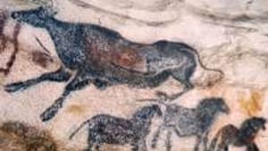 The Lascaux cave paintings (above) survived; imagine what didn't.