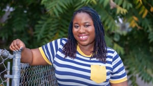 LaNeshe Miller-White, cofounder of Theatre in the X, now serves as the executive director. (Photo by Sharvon Hales Photography.)