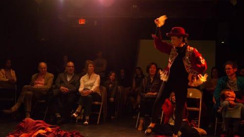 When dance is more than a rhythm: Elba Hevia y Vaca in 'La Bolivianita.' (Photo at Vox Populi by Julia Staples.)