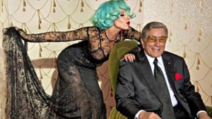 Lady Gaga and Tony Bennett: The only problem is when they are singing together. (Sony Music Entertainment)