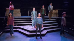 Powerhouse voices and budding talent: the ensemble of the Lantern's 'Minors.' (Photo by Mark Garvin.)