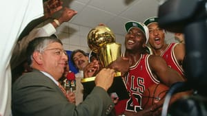 What's the story behind that winning feeling? (Photo by Andrew D. Bernstein, courtesy of Netflix.)