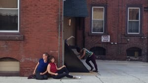 The Leah Stein Dance Company brings movement to Edith Neff's paintings. (Photo by Mira Treatman)